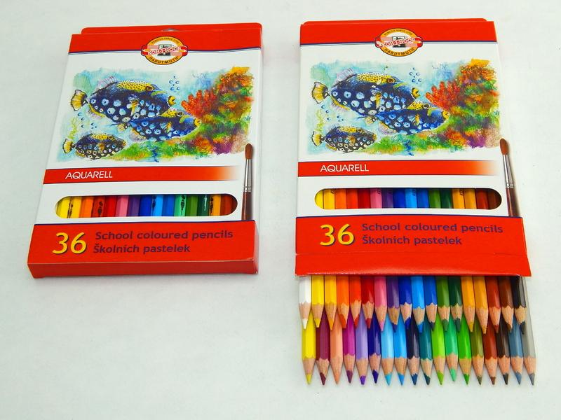 Pastelky akvarelové 3719/36