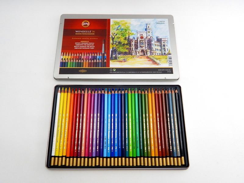 Pastelky akvarelové 3725/36
