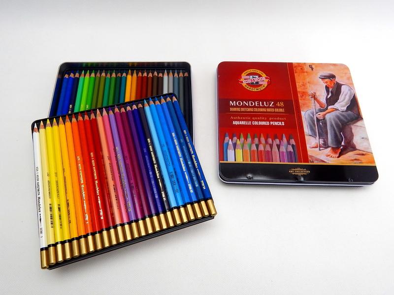 Pastelky akvarelové 3726/48