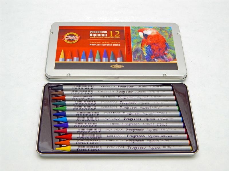Pastelky akvarelové 8782/12
