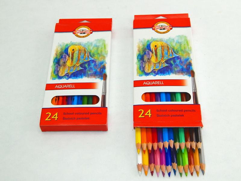 Pastelky akvarelové 3718/24