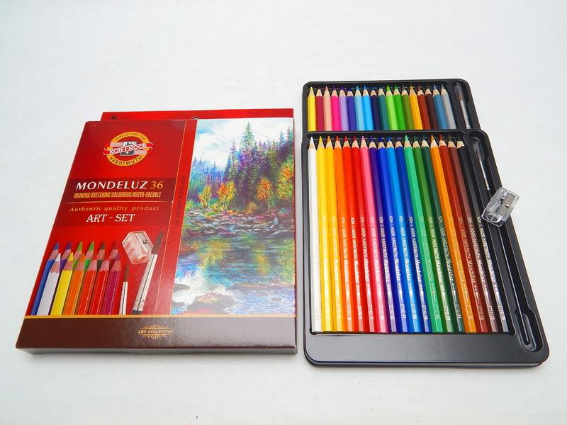 Pastelky akvarelové 3712/36