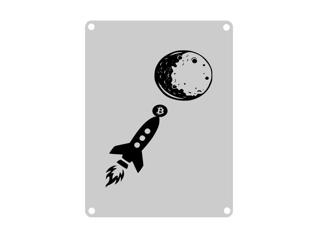 To the moon Výstřižek