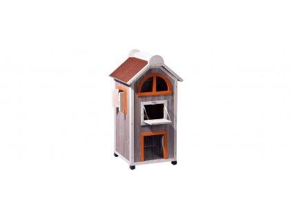 3 poschoďový kočičí domek 105cm
