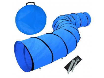 středně modrý tunel