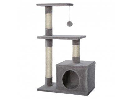 Kočičí škrabadlo - světle antracitové 80cm vysoké