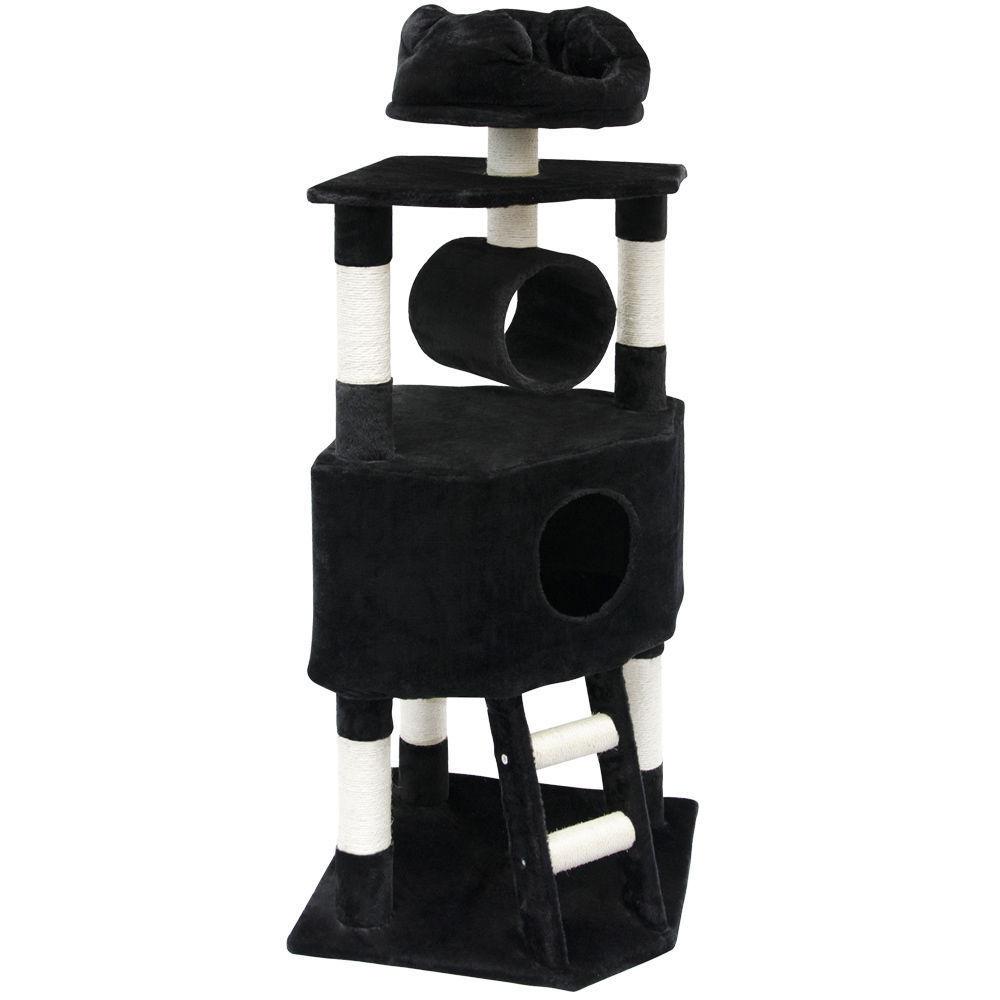 Kočičí škrabadlo XL - černé 145cm