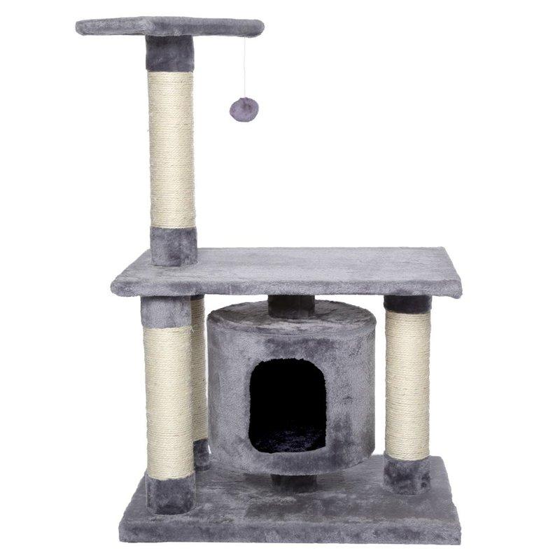 Kočičí škrabadlo - světle antracitové 90cm vysoké