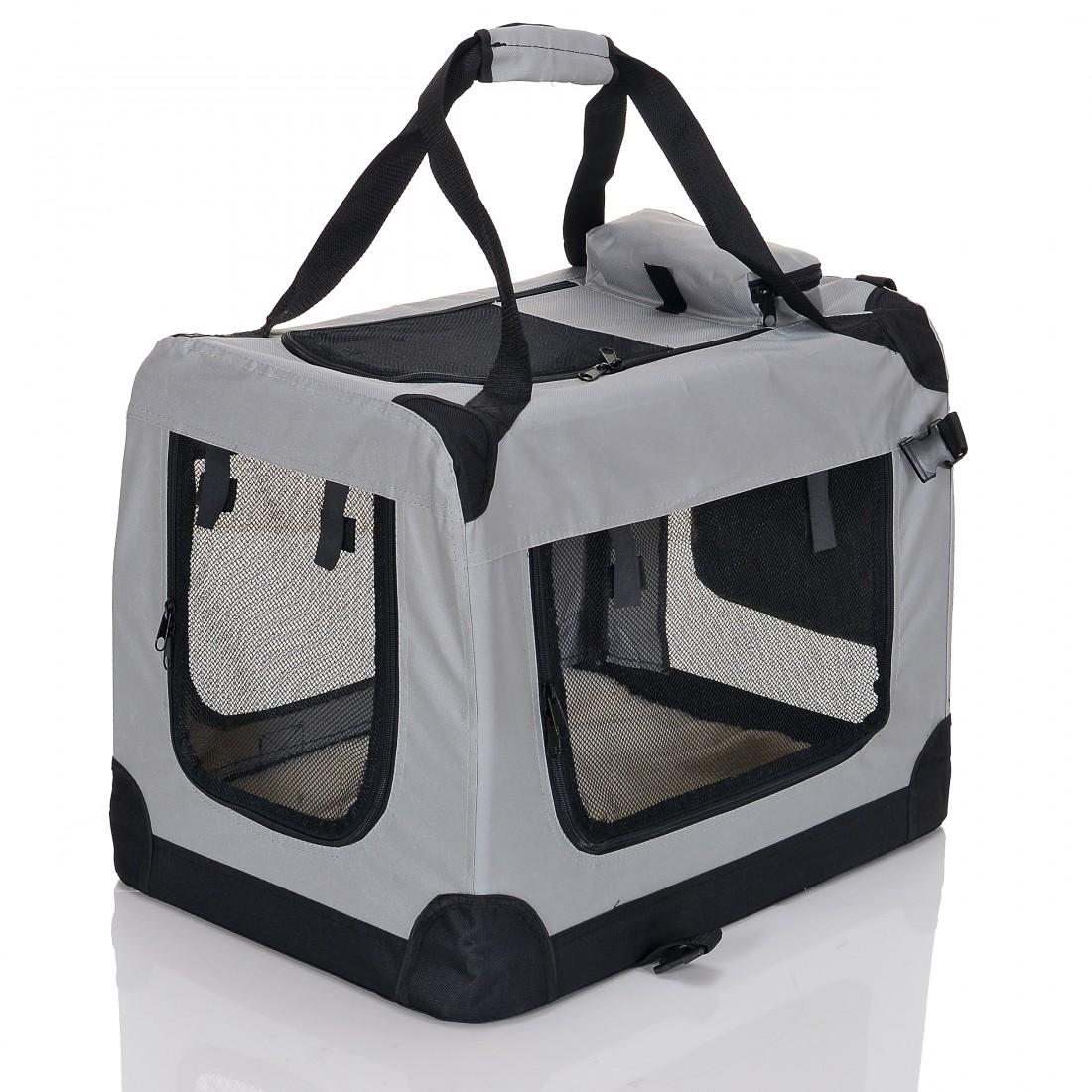 Transportní box pro psa – antracitový – velikost L