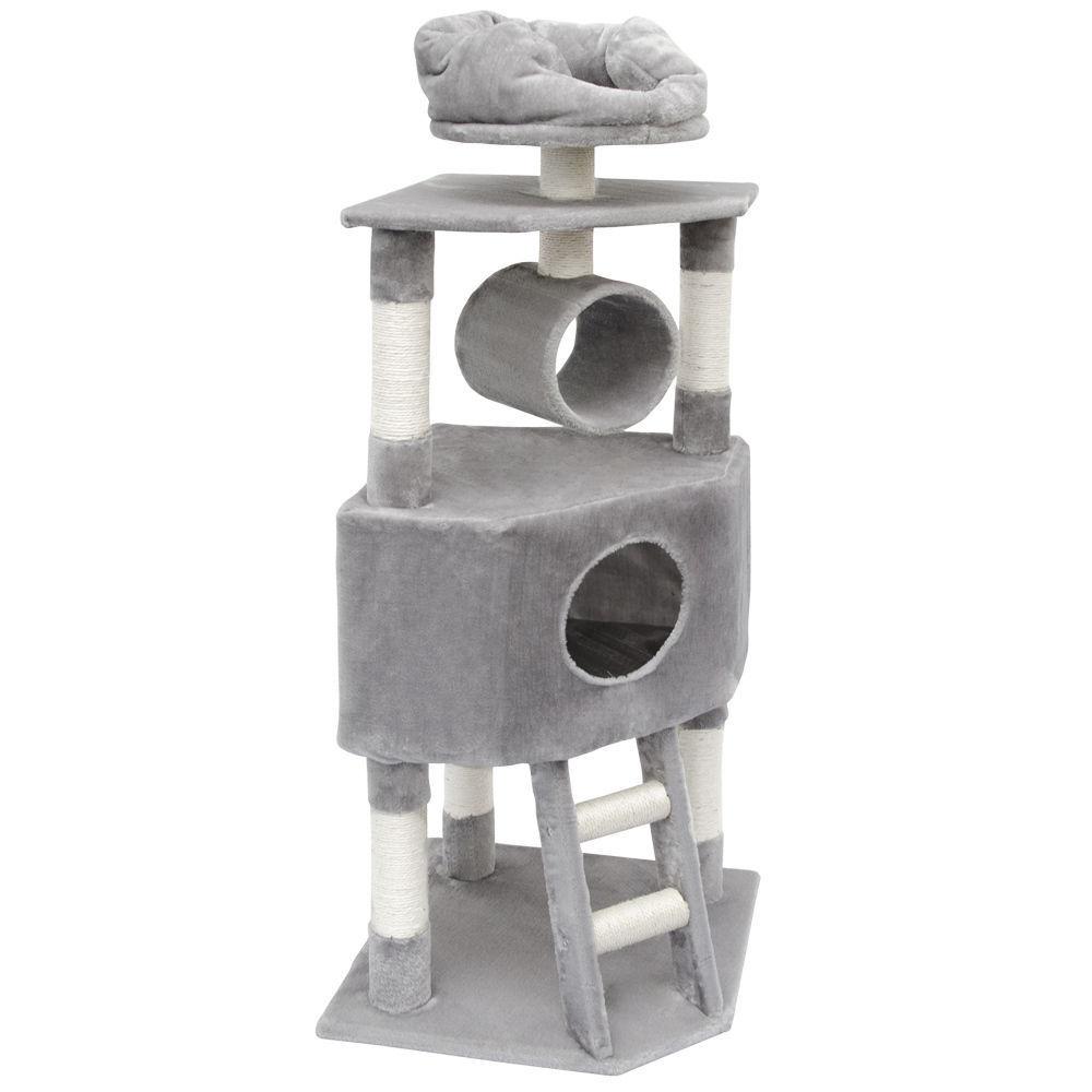 Kočičí škrabadlo XL - antracitové 145cm