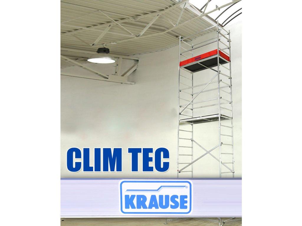 Pojazdná plošina KRAUSE Clim Tec - 3,00 m