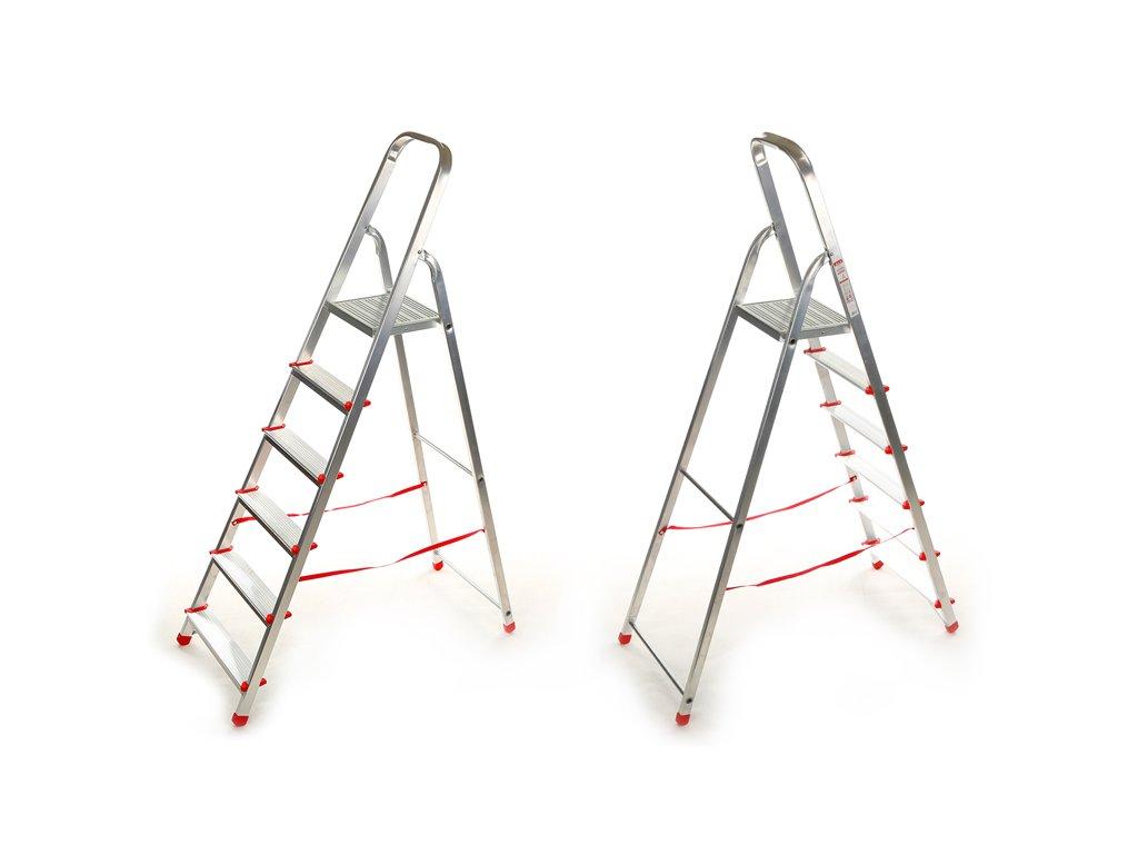 Domáci 6 priečkový rebrík Higher - 1,25m