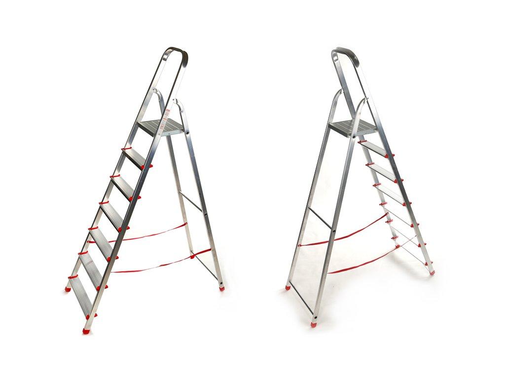 Domáci 7 priečkový rebrík Higher - 1,44m