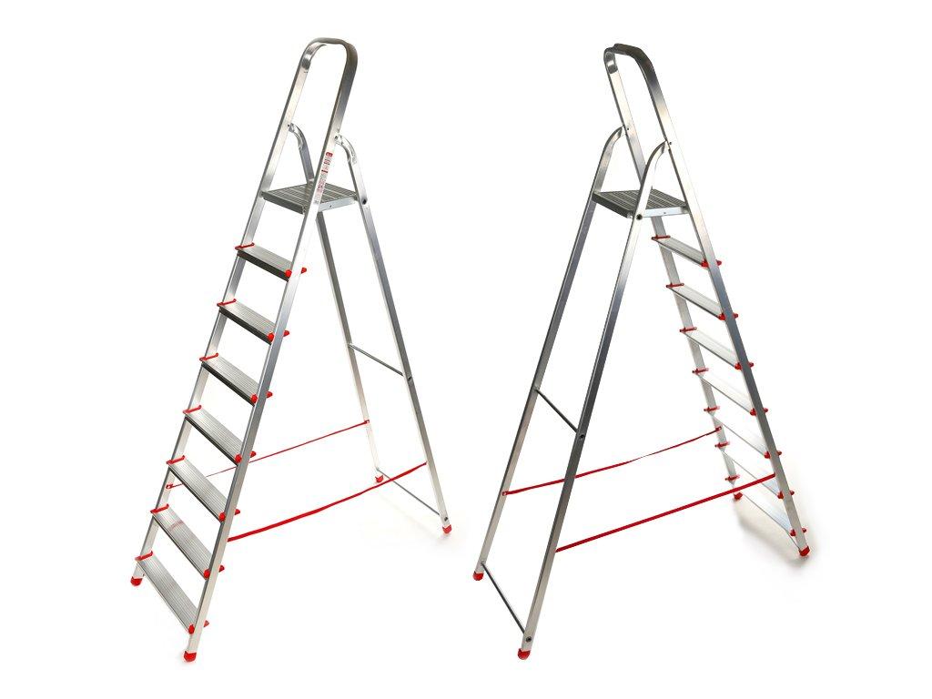 Domáci 8 priečkový rebrík Higher - 1,65m