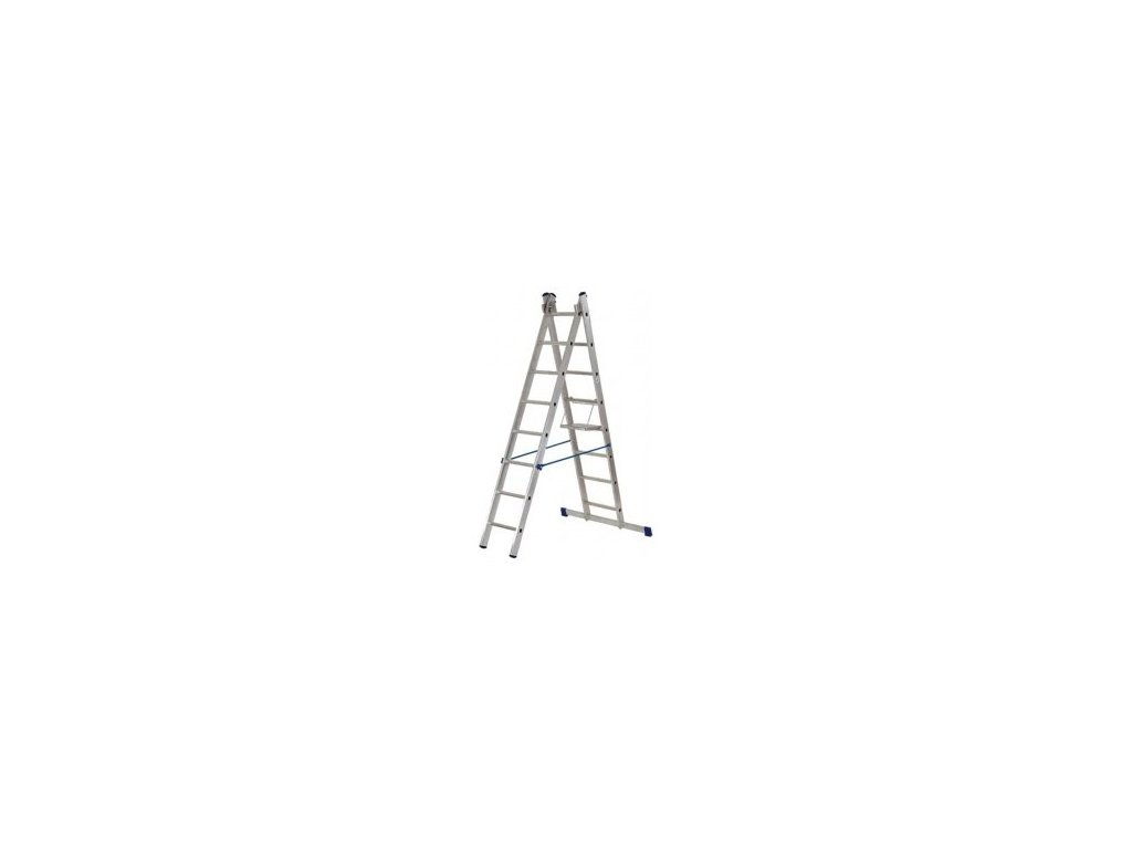 Rebrík Aloss 2x14 priečok - 6,83m