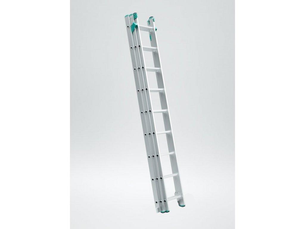 Rebrík Aloss Eurostyl 3x12 - 7,96m UNI