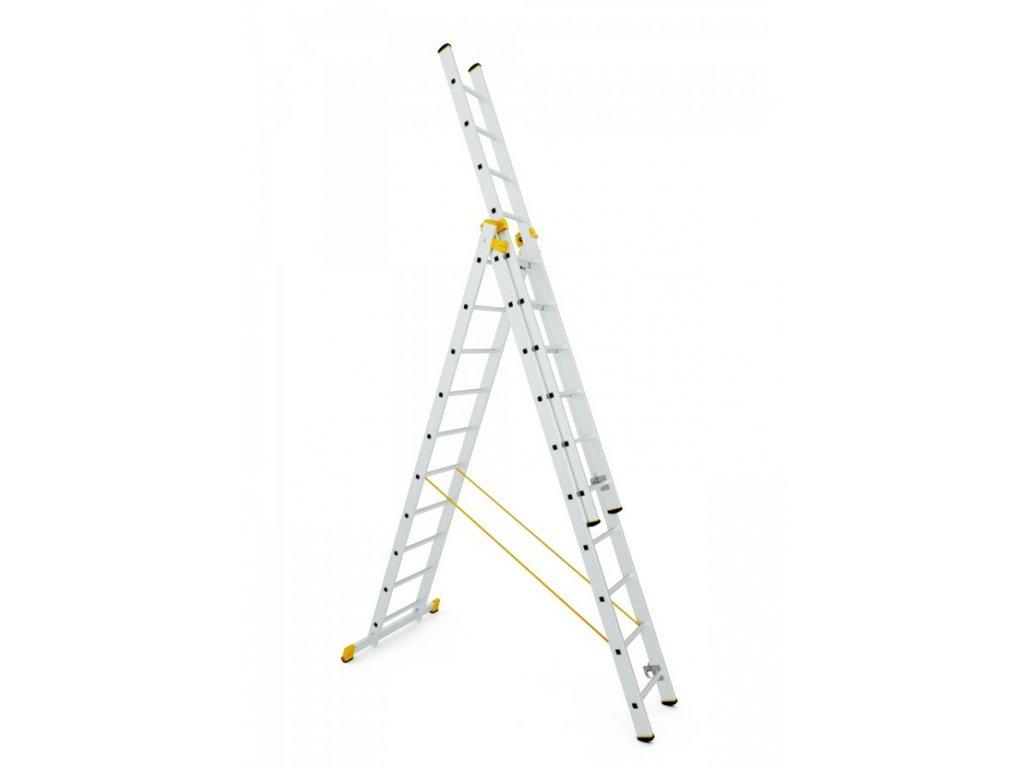 Rebrík Aloss Forte 3x12 - 8,65m