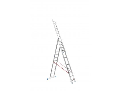 Rebrík Higher 3x14 priečok - 10,90m  + hák zdarma