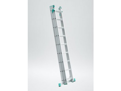 Rebrík Aloss Eurostyl 3x8 - 5,13m + stab.