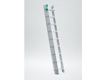 Rebrík Aloss Eurostyl 3x14 - 9,09m UNI