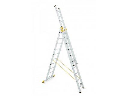 Rebrík Aloss Forte 3x10 - 6,95m