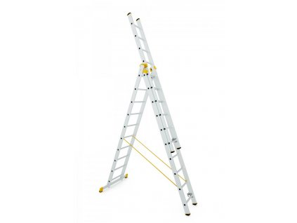 Rebrík Aloss Forte 3x15 - 11,20m