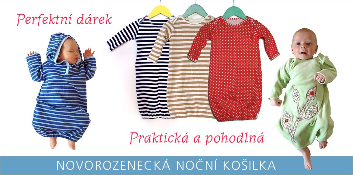 Novorozenecké košilky
