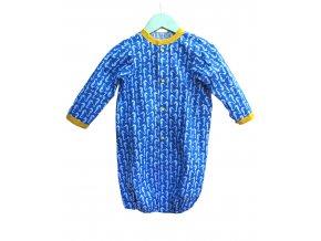 """Novorozenecká noční košilka """"Mořský koník"""" 0-5 m"""