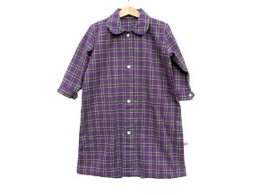 Novorozenecká noční košilka/pytel z flanelu 0-6 m