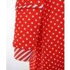 Noční košilka červená s puntíky 2-3 roky