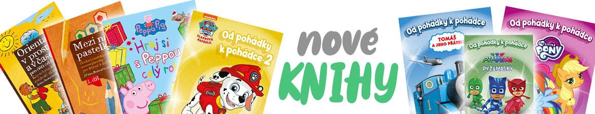 Nové dětské knížky >