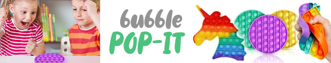 Praskající bubliny POP IT - zábavná hra