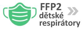 Respirátory FFP2 pro děti!