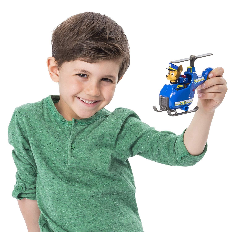 Vozidlo CHASE - vrtulník Mini Helicopter, Tlapková patrola