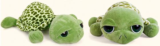 Plyšová želva s velkýma očima