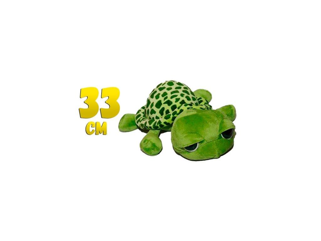 Plyšová želva s velkýma očima - SkřítekVÍTEK 56a08f494a