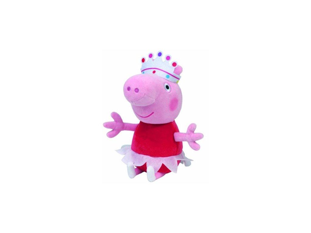 Prasatko Peppa- - plyšová Peppina princezna 20cm - SkřítekVÍTEK 09de9a59d0