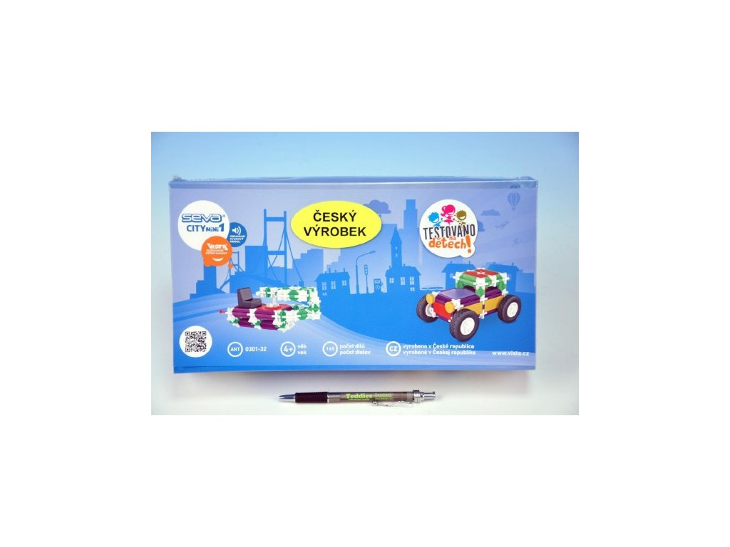 Stavebnice Seva City mini 1 plast 145ks v krabici 31x16x7 4221828aff