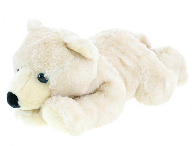 Medvěd lední plyšový 32cm ležící 0m+