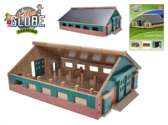 Farma dřevěná 21x30x11cm 1:87