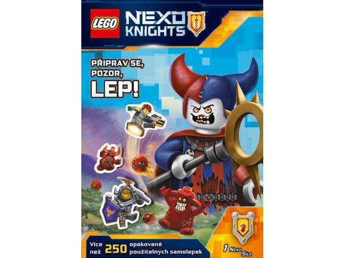 LEGO® NEXO KNIGHTS™ Připrav se, pozor, lep! - kolektiv