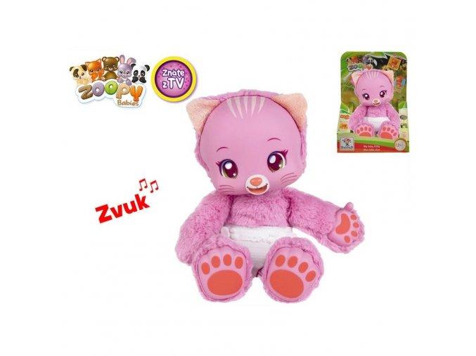 Zoopy Babies - plyšové zvířátko na baterie