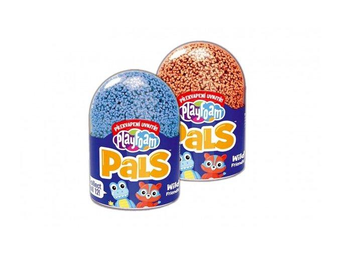 PlayFoam® PALS Modelína/Plastelína kuličková Kámoši 6 barev v pl. krabičce 9x6,5cm (1 ks)
