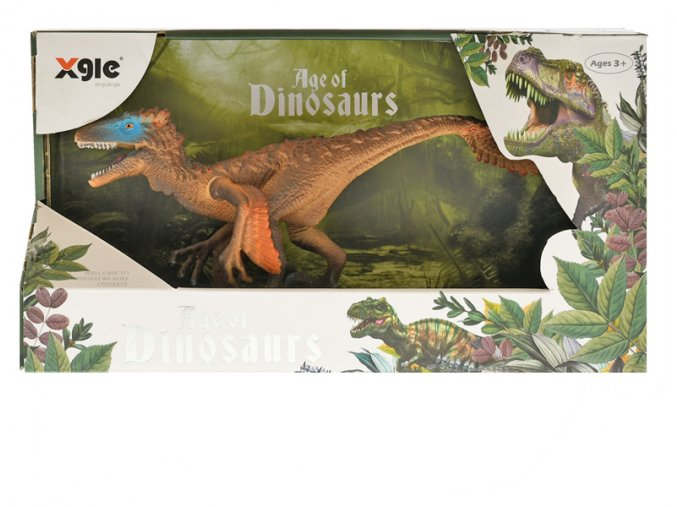 Dinosaurus Utahraptor 21cm skladem