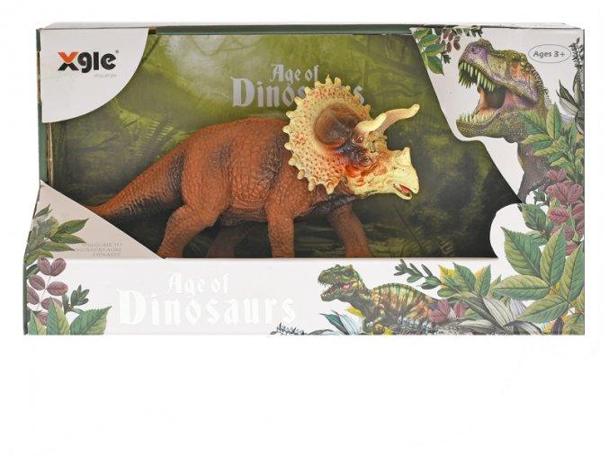 Dinosaurus Triceratops 18cm skladem