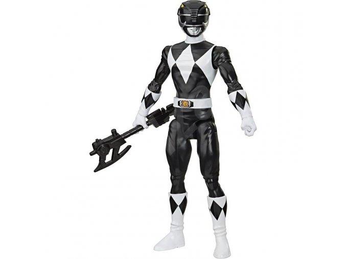 Power Rangers figurka retro černý ranger