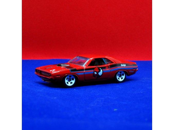 hot wheels marvel spiderman 70 dodge hemi challenger gjv24 1111