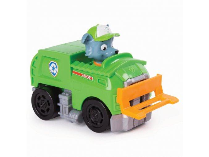 Tlapková patrola malá vozidla s postavičkou - Rocky