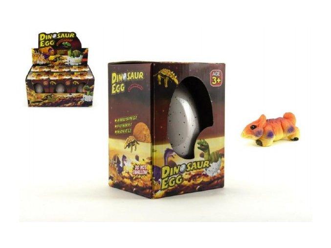 Vejce maxi líhnoucí a rostoucí velký dinosaurus 11cm v krabičce (1 ks)