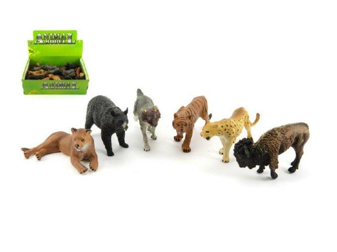 Zvířátka safari ZOO plast 10cm asst (1 ks)